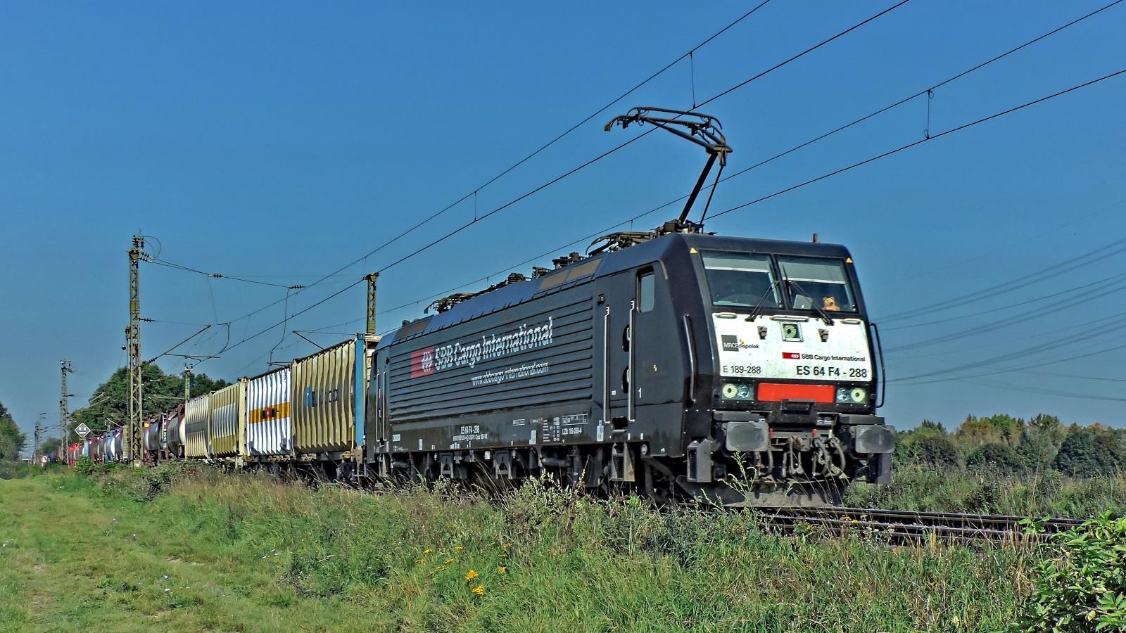 189 288 ES 64 F4 - 288 SBB Cargo International