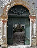 18th century courtyard
