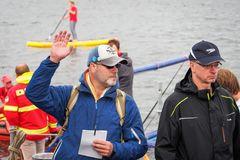 19. Warnowschwimmen lockte in den Rostocker Stadthafen