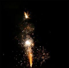 1/90 Sekunde im Leben eines Standard-Feuerwerkeffekts