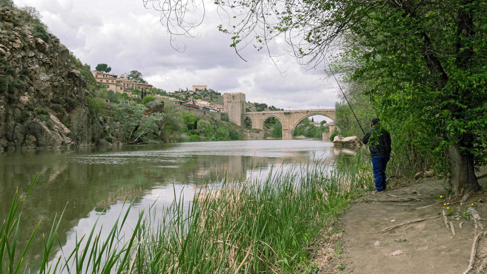 1904_0025 Angler am Tajo