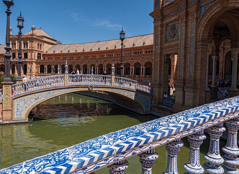 1905_0857 Sevilla: Plaza de Espana