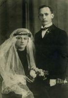 1925 Hochzeit meiner Grosseltern Mosimann-Manhart