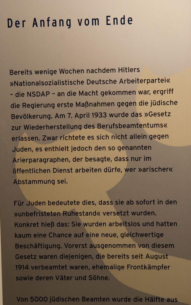 1933,  die Wende