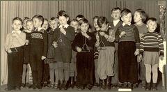 1952 im Kindergarten von Bad Schwalbach