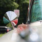 1959 Oldsmobil Spiegelung im Chromspiegel