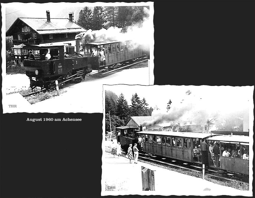 1960 Es dampfte am Achensee