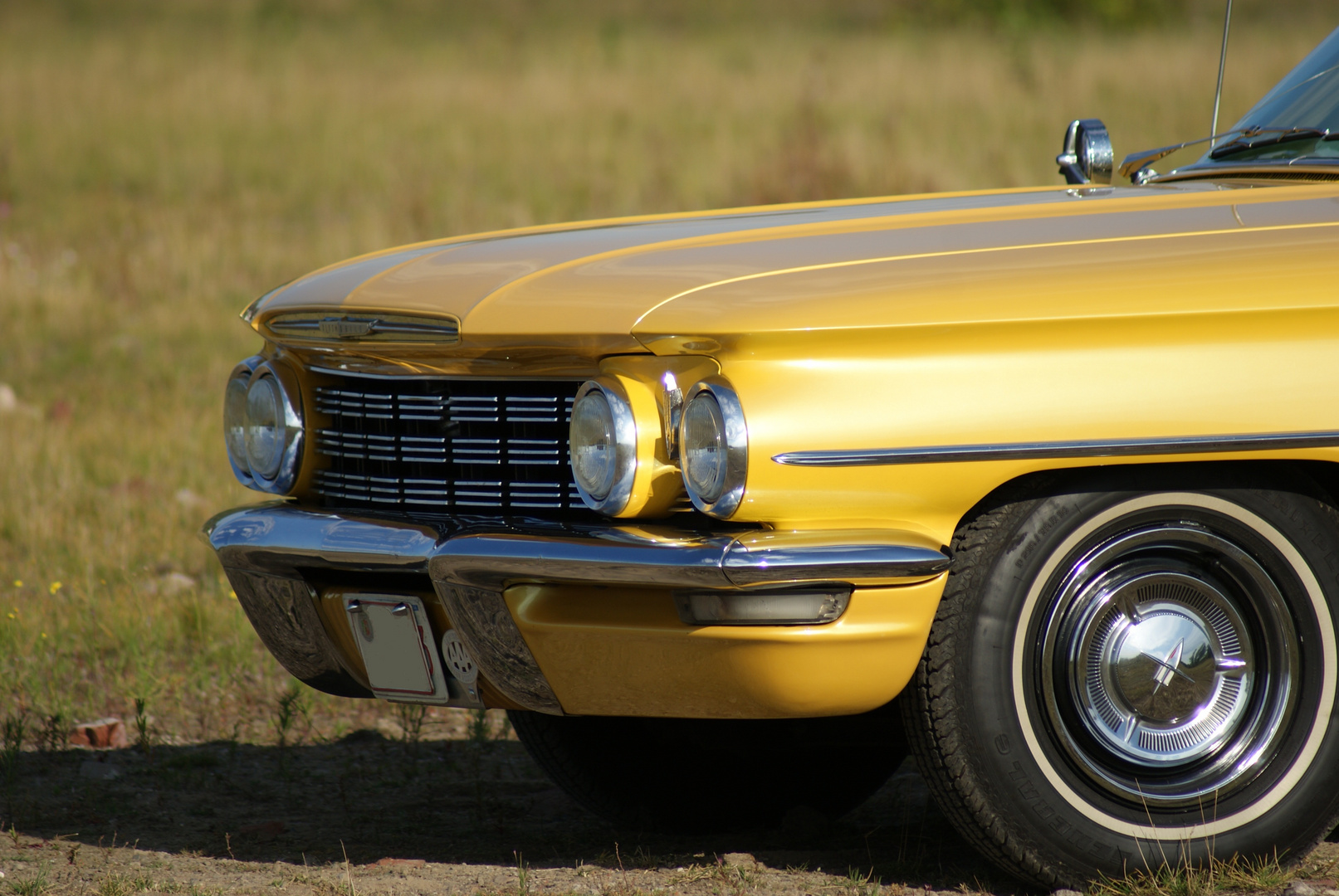 ...1960 Oldsmobile-Front...