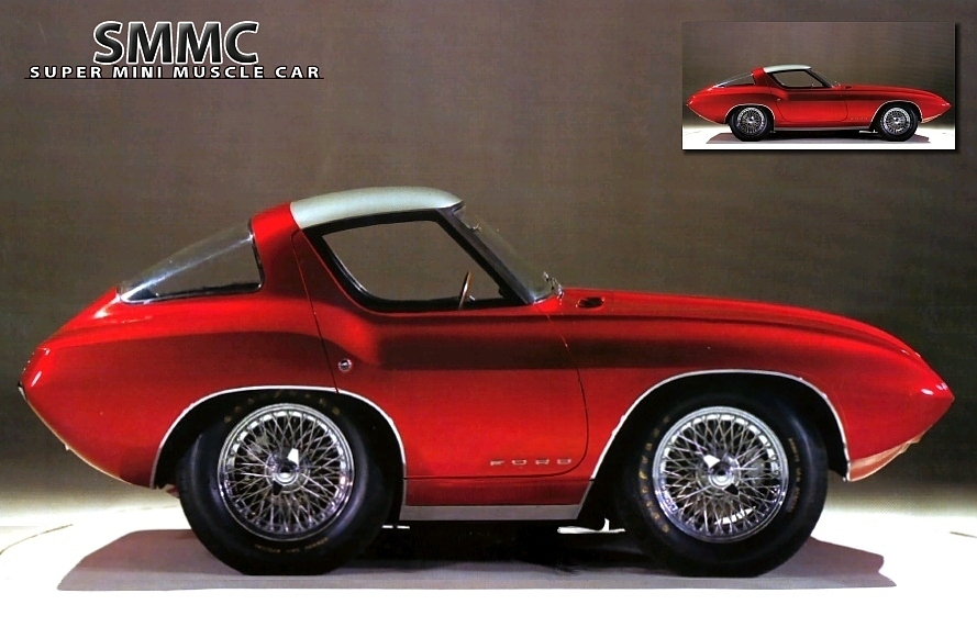 1964 Ford Cougar II Concept Car