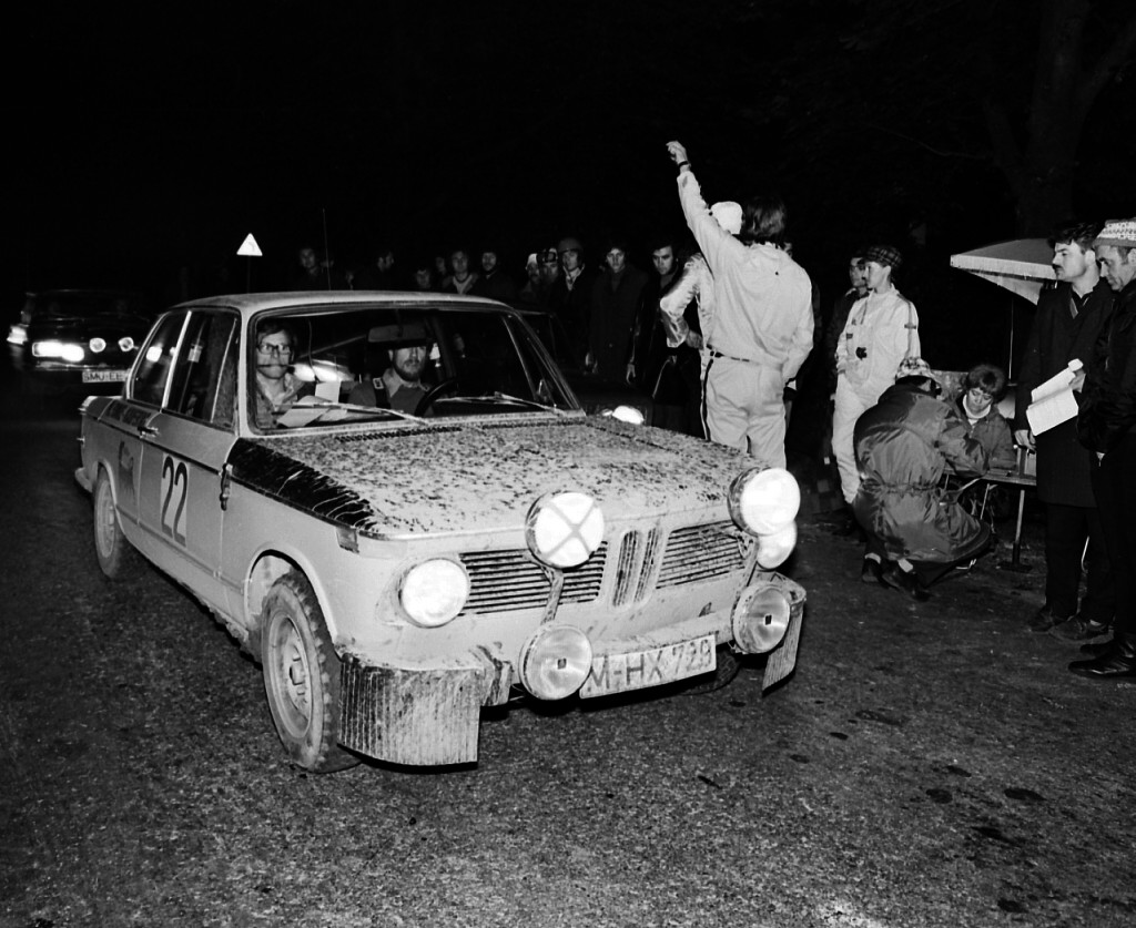 1973 München Wien Budapest Rallye Foto Bild Sport