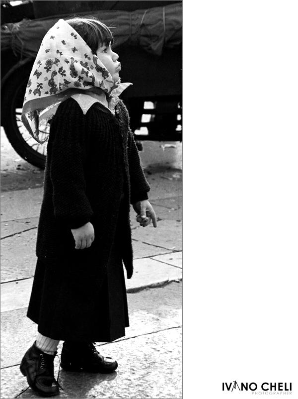1978 - Milano - una bimba