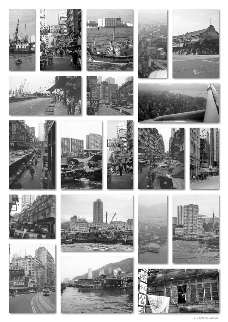 1985 Hongkong - Collage  ©