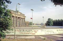 1986 Berliner Mauer 1