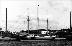 1986 Hafen von Lemvig (DK)  Schiffsname unbekannt