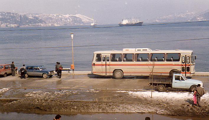 1987 am Bosporus.