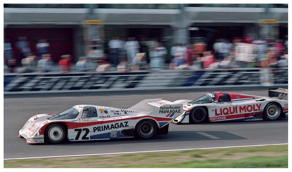 1987 Nürburgring 1000KM: Der Obermeier-956 und der Lloyd-956