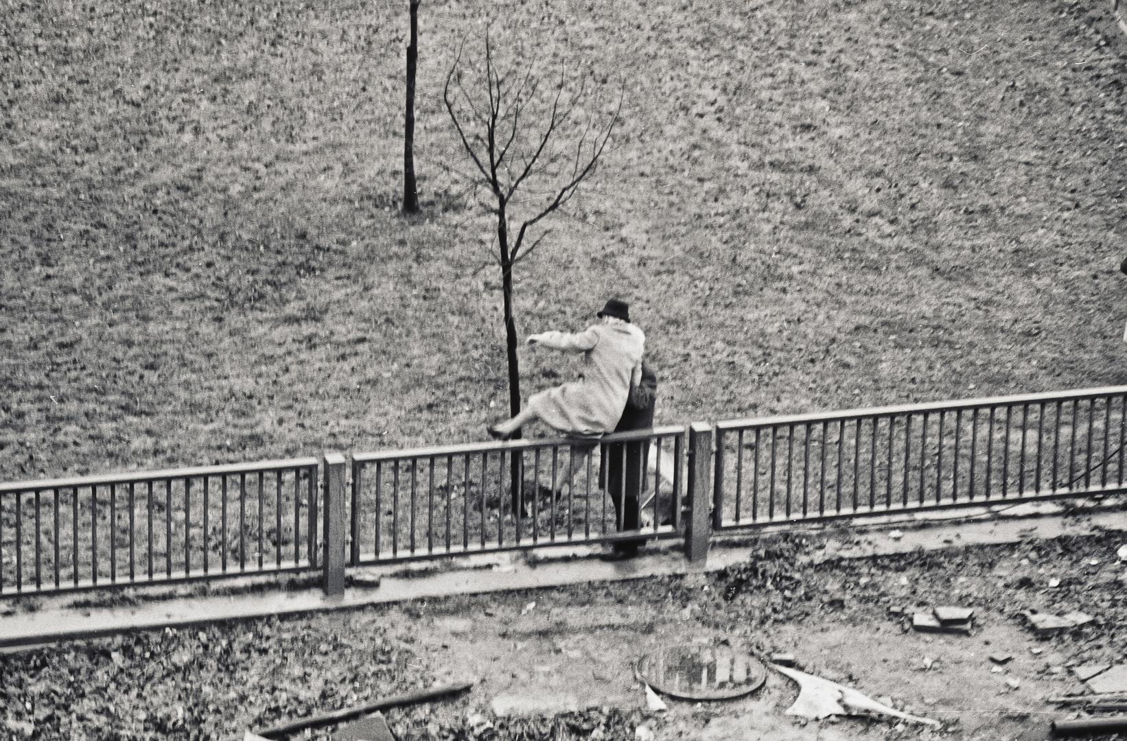 1990, Dezember, Berlin, Pariser Platz...