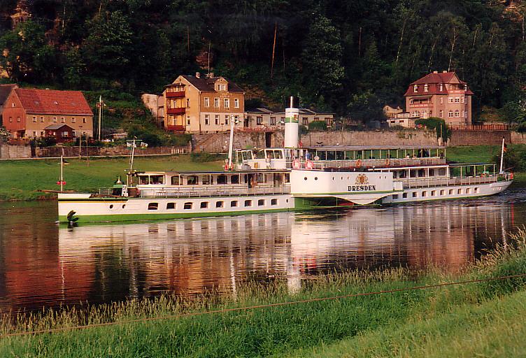 1993 in Stadt Wehlen an der Elbe.