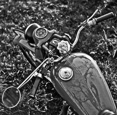 1997- Motorrad- Vogelperspektive