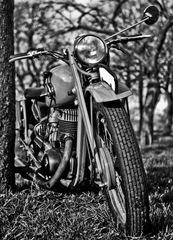 1997- Motorrad- Vorderansicht