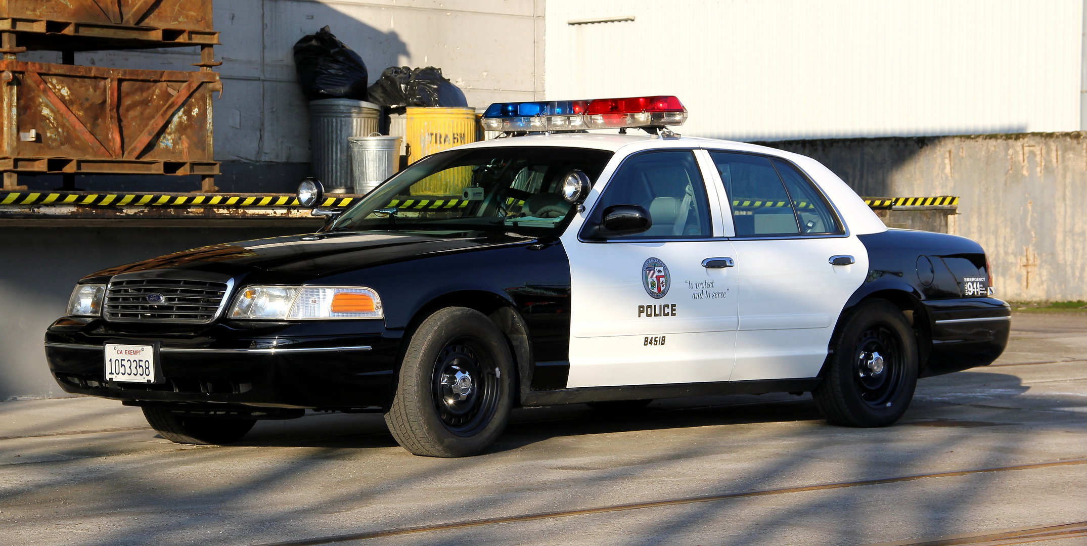 1998 LAPD Ford Crown