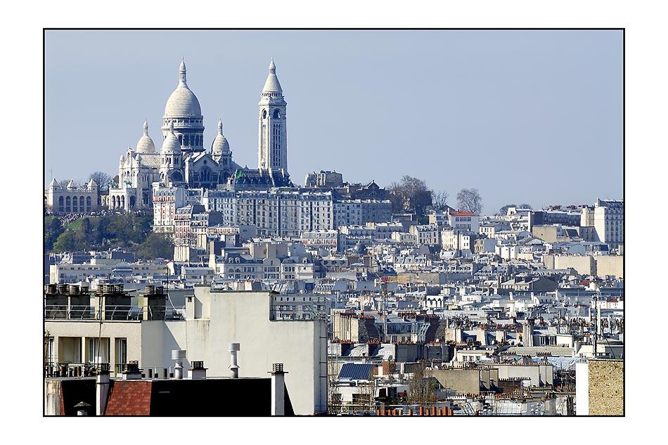 19eme - Vue de la rue Georges Lardennois
