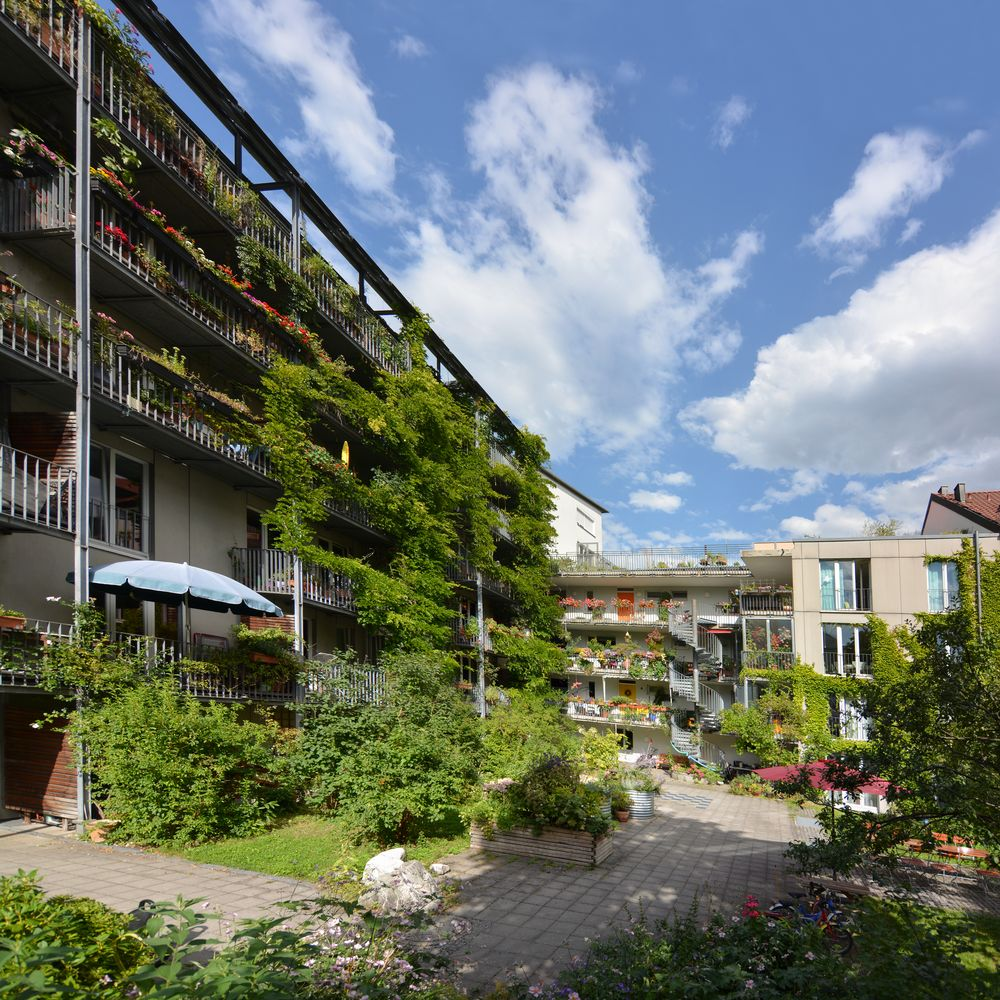 Gefördertes Genossenschaftsprojekt in München von norbert lampe