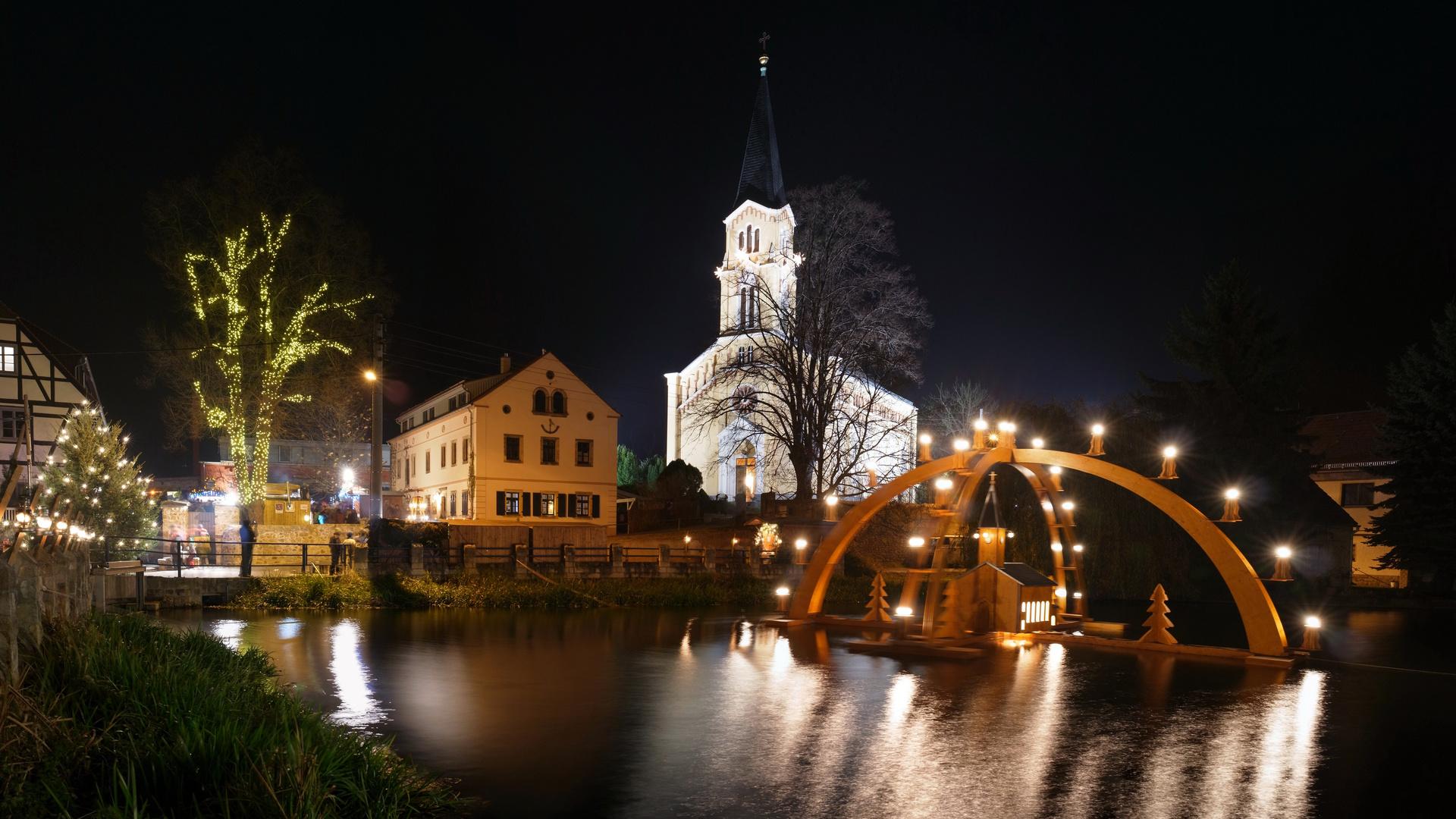 1 Advent Weihnachtsmarkt.1 Advent In Bärnsdorf Foto Bild Weihnachten World