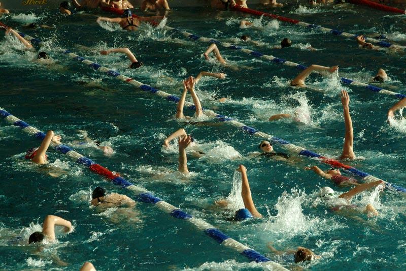 1schwimmen
