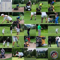 1.Turniertag der Deutschen Meisterschaft der Golfer mit Behinderungen im GC Abenberg (Nähe Nürnberg)