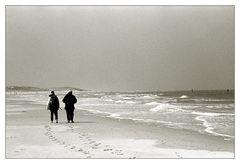 2 am Strand ...