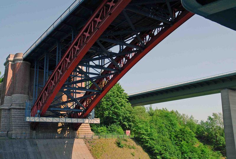 2 Brücken über den Nordostseekanal