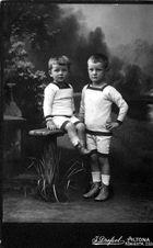 2 Brüder ca. 1914