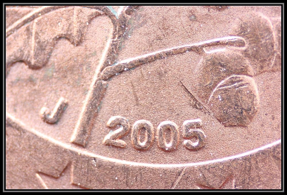 2 Cent Münze