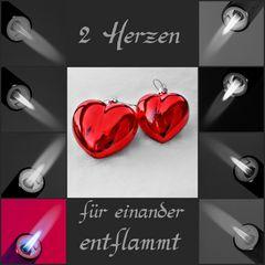 2 Herzen für einander entflammt....##1872##