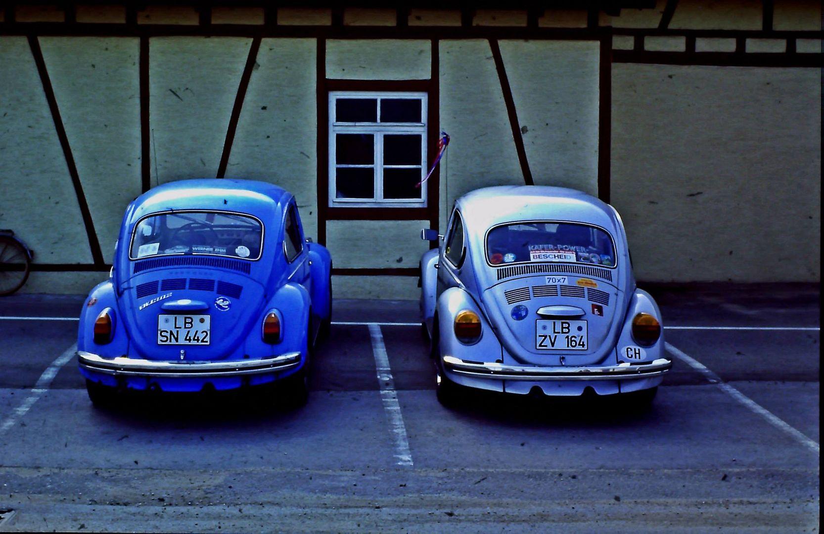 2 Käfer ( der meiner Frau und meiner )