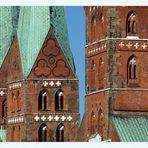 2 Kirchen - 3 Türme