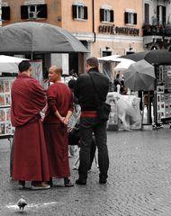 2 mönche in rom
