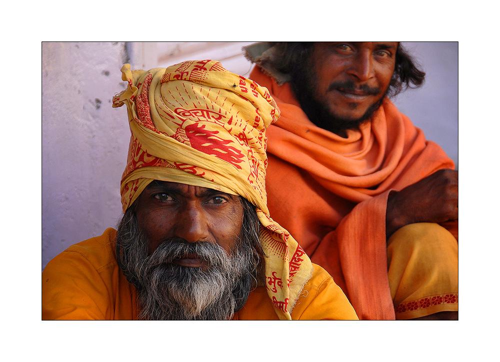 2 Saddhus in Udaipur