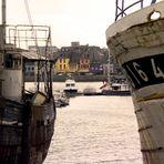 2 Wracks im Hafen von Camaret