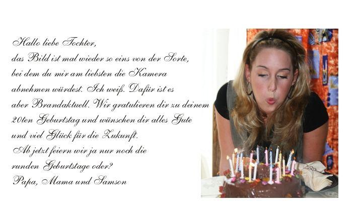 20 Jahre Gluck Foto Bild Karten Und Kalender