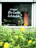 """20. """"stoppt Bin Ladin Schäuble ?"""""""