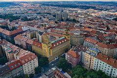 200 Meter über Prag