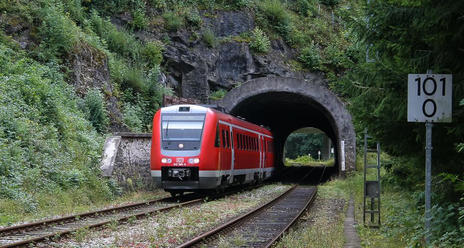2004: Tunnel Oberstaufen