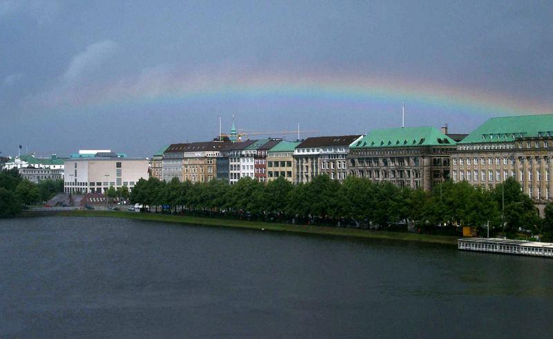 20.07.2005 Hamburg - Binnenalster