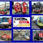 2010 - das Jubiläumsjahr der deutschen Eisenbahnen - 175 years railways in Germany