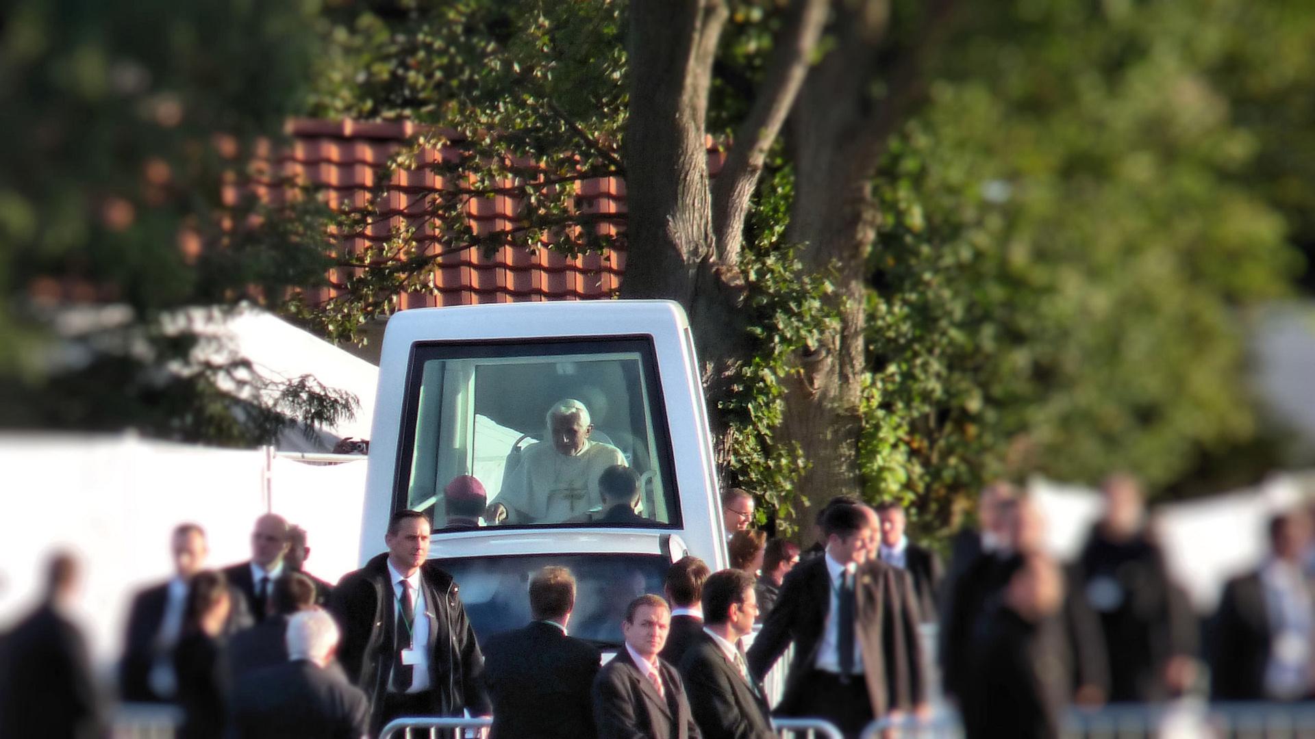 2011 Der Papst besucht Etzelsbach