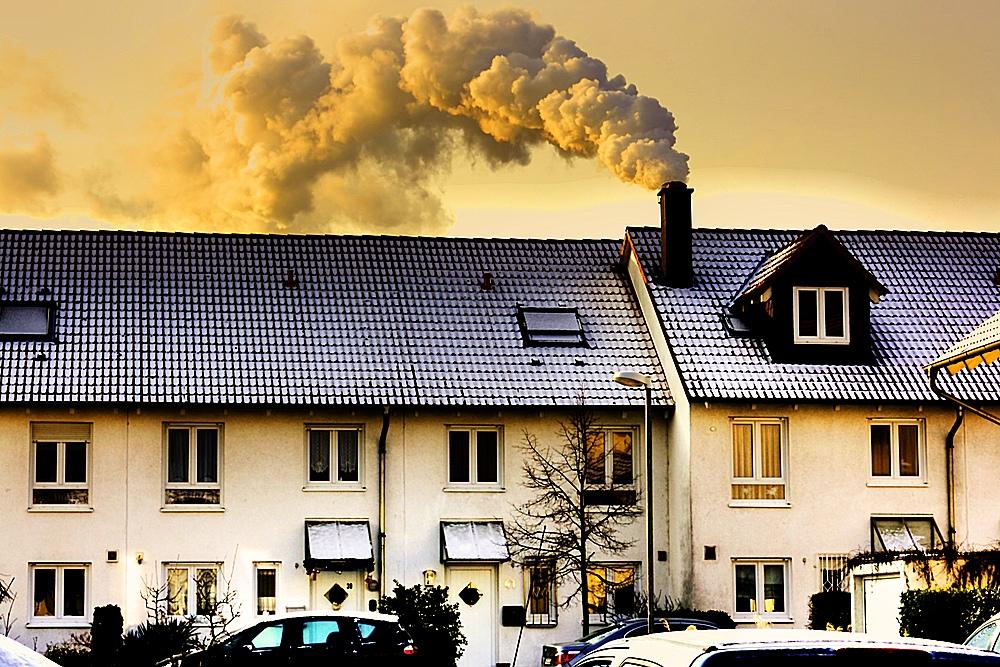 2011 oder so: Das letzte Nicht-Passivhaus in unserer Straße.