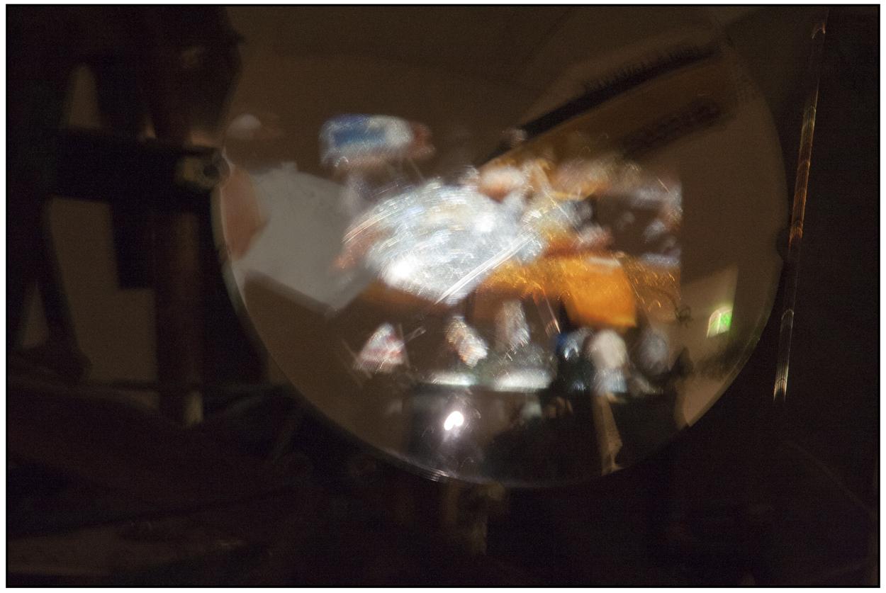 2013 Basel - Glaskugel im Tinguely