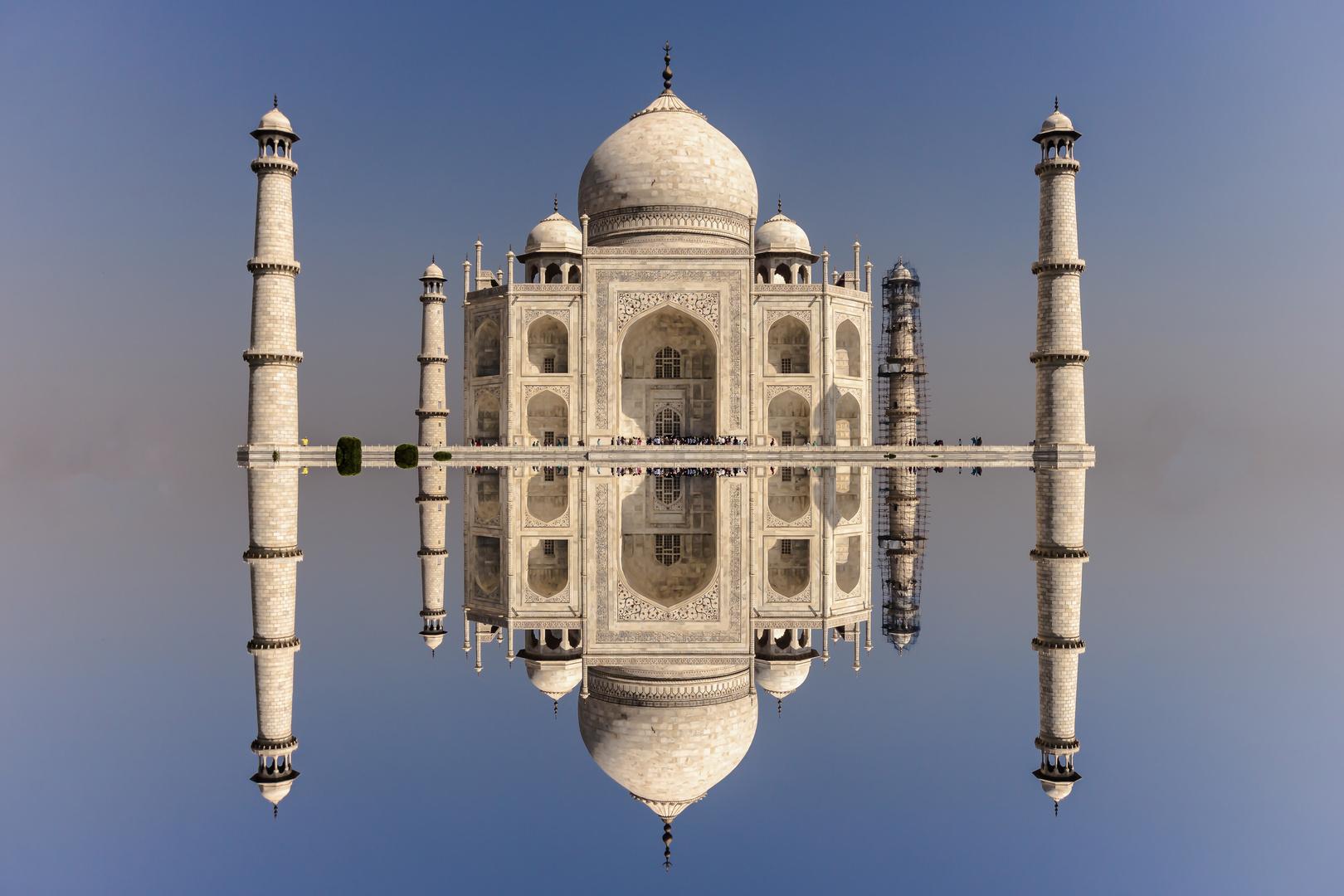 2015 09 Indien Agra Taj Mahal X